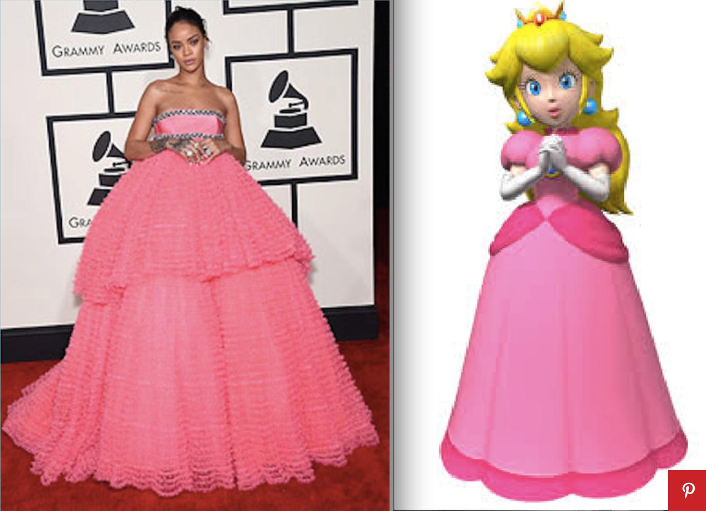 7 photos de Rihanna cosplay dans l'univers de mario