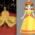 """7 photos qui prouvent que Rihanna s'habille en personnages de """"Mario Party"""" depuis des années"""
