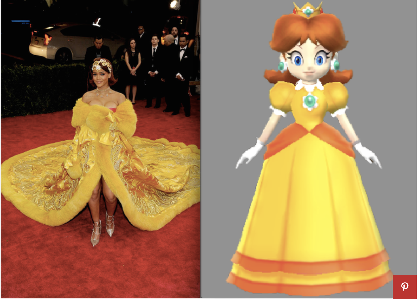 7 photos de Rihanna cosplay dans l'univers de mario