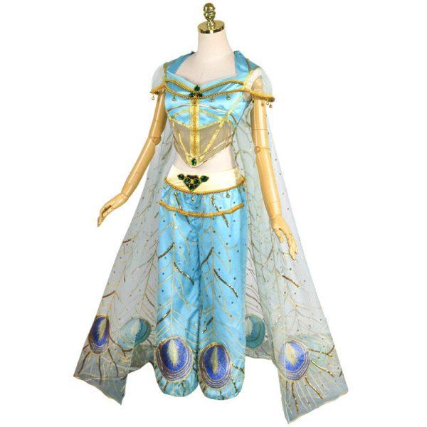 Cosplay Jasmine bleu