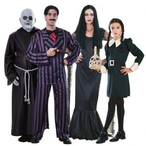 Cosplay Famille Addams